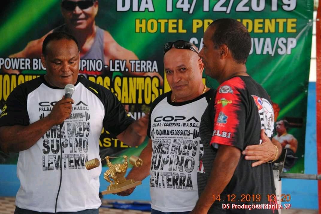 Copa Ases de Ouro Power Biceps Supino e Levantamento Terra Joaquim Alves dos Santos